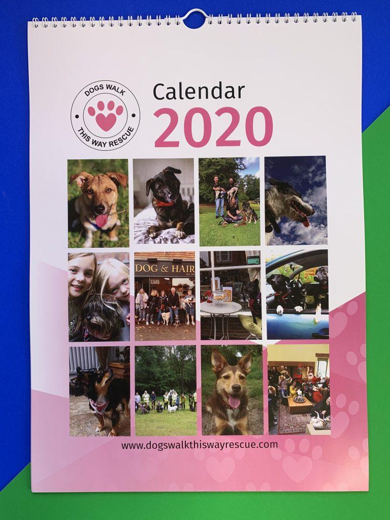2020 Dog Charity Calendar